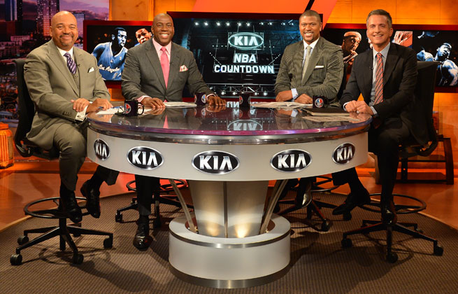 Despite having to develop chemistry on the fly, ESPN is happy with the progress made by its new NBA Countdown crew.