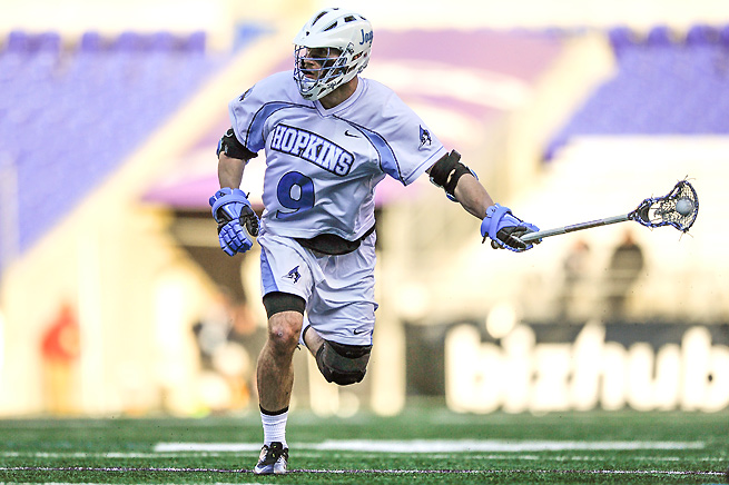 Johns Hopkins will join the Big Ten as an affiliate member for only men's lacrosse.