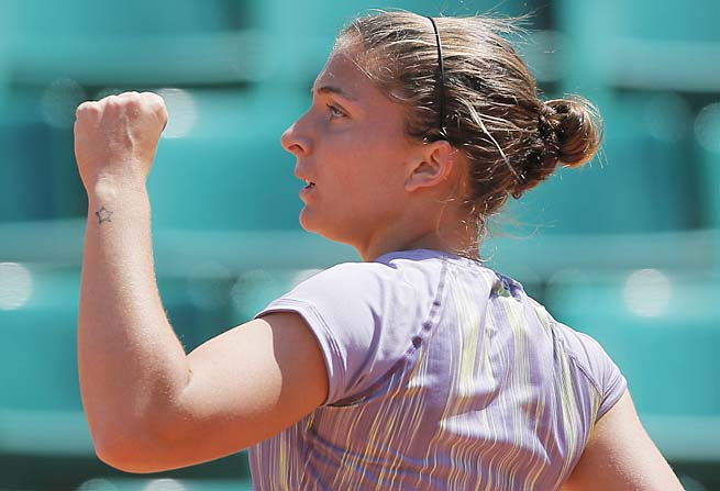 No. 5 Sara Errani is looking to do one better than last year, when she was runner-up.
