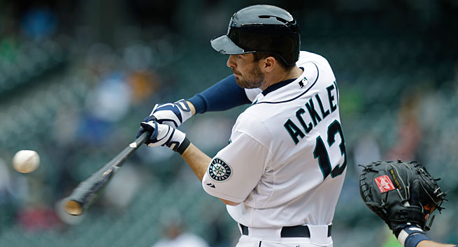 Dustin Ackley couldn't translate his great hitting from college to the majors and was demoted.