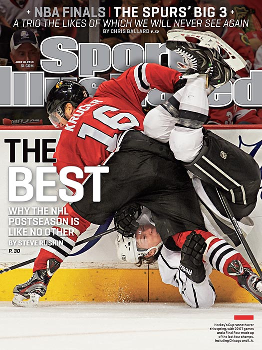 This year the NHL postseason has been riddled with great goals, big hits and some thrilling overtime wins. Steve Rushin explains in this week's issue why nothing can compare to the NHL playoffs.