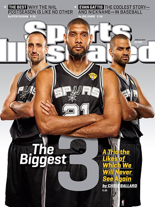 Tim Duncan, Manu Ginobili and Tony Parker have turned the Spurs into one of the most successful teams of the past decade. This week's issue catches up with the trio as it prepares for another championship run. Classic photos of Tony Parker Classic photos of Tim Duncan