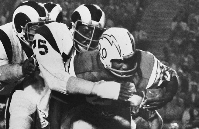 Deacon Jones is known for his pass rushing prowess, but he was equally good against the run.