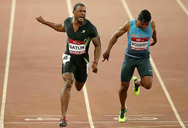 Justin Gatlin has won his last three 100 meter races, but Usain Bolt is 3-0 when Gatlin is in the field.