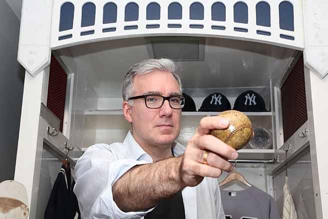 Keith Olbermann is a noted fan and historian of baseball and has a long history of working in sports television.