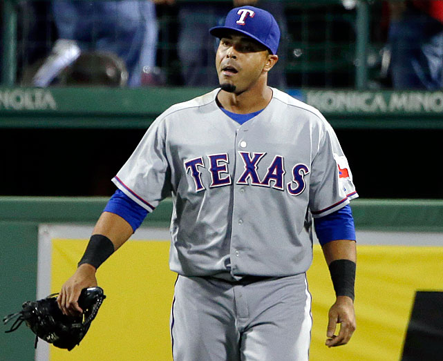 A 32-year-old two-time All-Star (including this year), Cruz has been the Rangers' regular rightfielder since 2009, hitting a combined .272/.332/.512 and averaging 27 homers per year, including this one. He missed considerable time in 2010-2011 due to recurrent injuries to his left hamstring, but has proven durable since then, and is hitting .269/.330/.511 with 27 homers for a Rangers team that can ill afford to lose him.