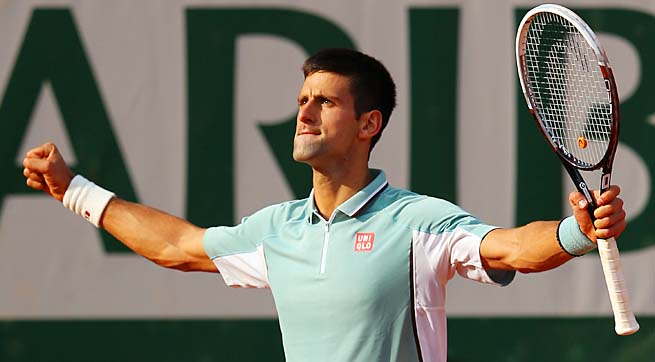 No. 1 Novak Djokovic will face No. 3 Rafael Nadal in the semis, a rematch of the 2012 final.
