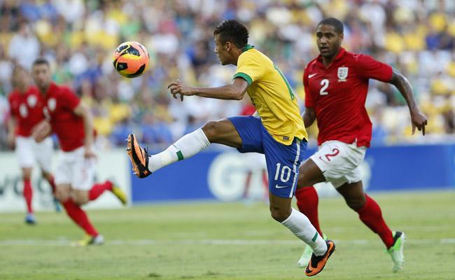 Neymar has scored 20 goals in 33 international appearances for Brazil.