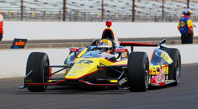 Oriol Servia, who finished 11th in the Indy 500, is happy to have a ride with a team he knows well.