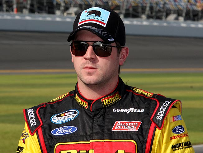 Michael Arnett has been recovering from the effects of a devastating wreck at Daytona.