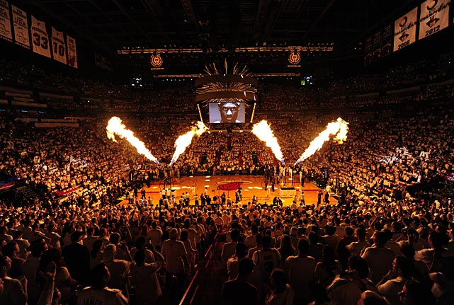 The Heat are back in the Finals for the third consecutive year. The Spurs were last here in 2007.
