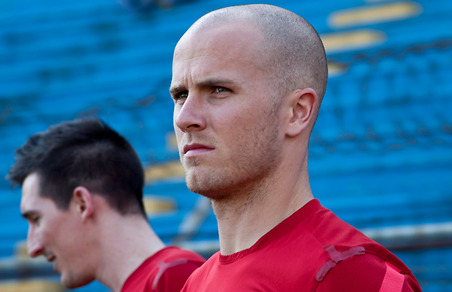 Michael Bradley wasn't on the pitch the last time the U.S. played Jamaica, a 2-1 defeat.