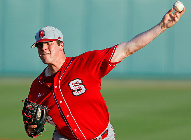 Carlos Rodon will be trying to get N.C. State to its first College World Series since 1968.