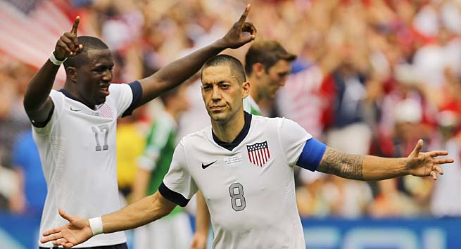 Clint Dempsey and the U.S. have four points through three matches in the hexagonal.