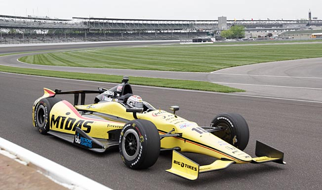 Graham Rahal is 14th in points after a 25th in the Indy 500 and two ninth-place finishes in Detroit.
