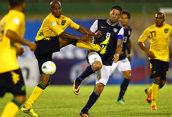 Clint Dempsey led the United States to a huge 2-1 win in Jamaica to aid their chances of qualifying for Brazil 2014.
