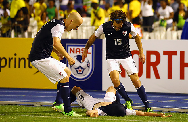 Brad Evans scored a last-gasp winner in stoppage time, his first goal with the U.S. National Team.