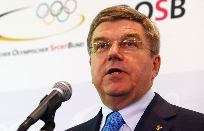 Former German fencing gold medalist Thomas Bach said the proposed network would combine programming of all the Olympic sports.