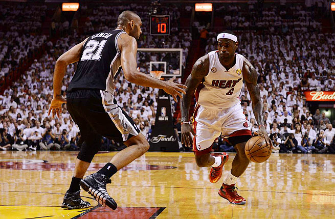 It would be easy to see LeBron's Heat vs. Duncan's Spurs and think the matchup is old vs. young.