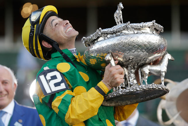 Legendary jockey Mike Smith led Palace Malice to a victory at the 145th running of the Belmont Stakes.