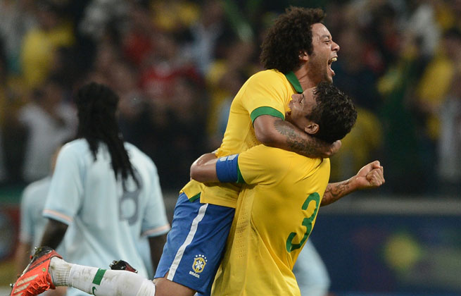 The result ended Brazil's 21-year winless run against France.
