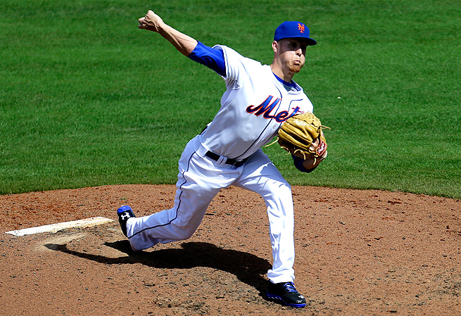 Prized pitching prospect Zack Wheeler has struck out 66 batters in 63 innings at Triple A Las Vegas.