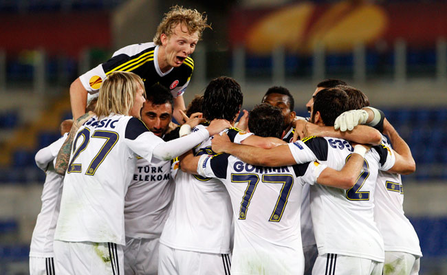 Fenerbahce made it to the semifinal round of the UEFA Europa League last season.