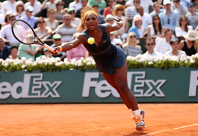 After a win at Roland Garros, Serena Williams is now within six titles of Steffi Graf's record 22 majors.