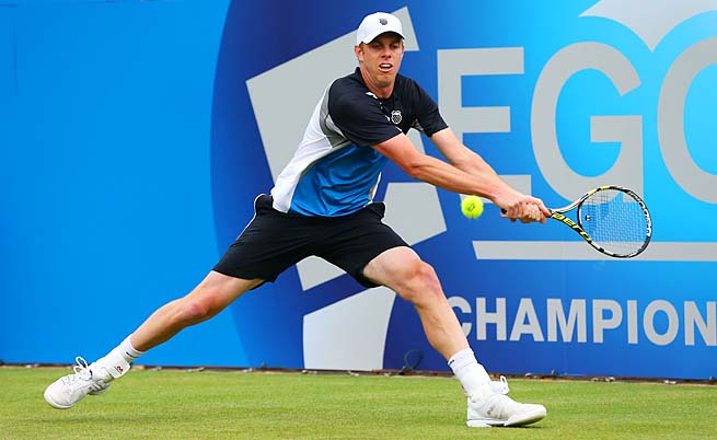 Sam Querrey is the highest-ranked American man at No. 19.