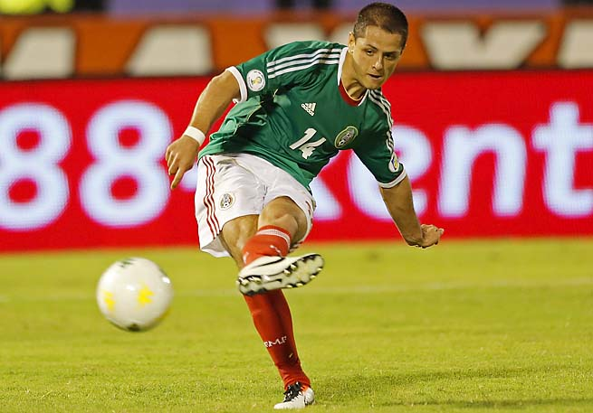 Javier Hernandez and Mexico are 17th in the FIFA rankings, the highest North American team.