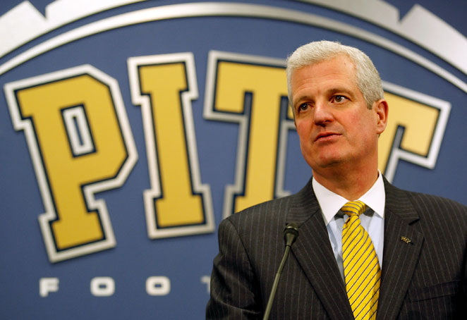 Pittsburgh athletic director Steve Pederson has signed a five-year contract extension with the school.