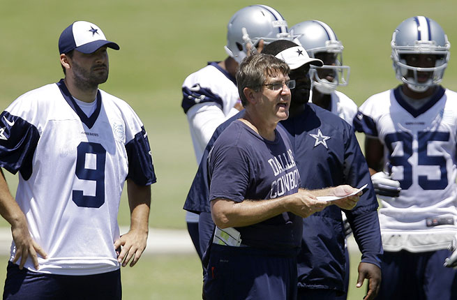 After much discussion over who would call plays, Jason Garrett finally admitted it would be Callahan.