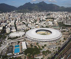 Rio's Maracana Stadium will host the final match of the World Cup, just as it did in 1950.