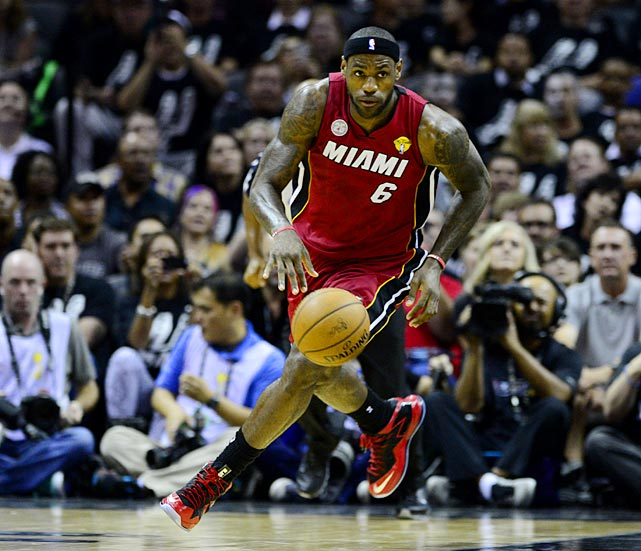 The Heat were unable to create turnovers and get in the open floor to create easy baskets.