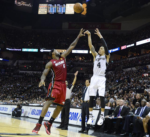 Hand in his face or not, Danny Green seemed to make everything he looked at Tuesday night, finishing with 27 points on 7-9 shooting from deep. He's made 16 of 23 three-point attempts in these NBA Finals.