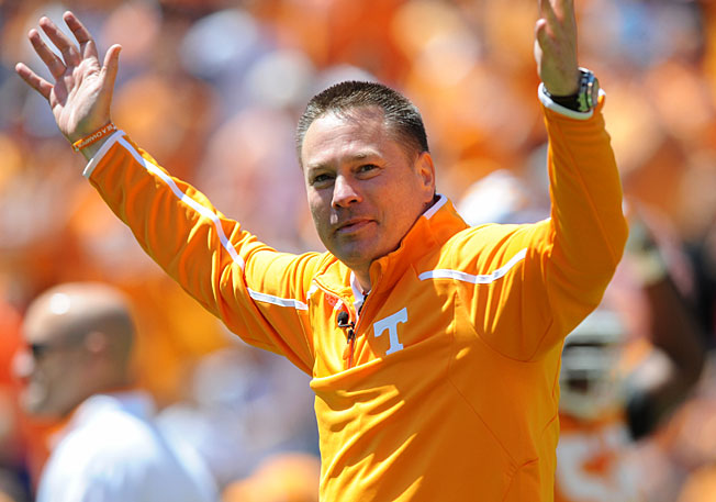 First-year Tennessee head coach Butch Jones is on his way to landing a talent-rich 2014 recruiting class.