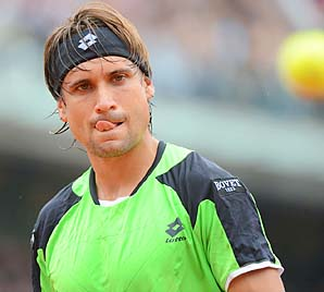 David Ferrer lost to Rafael Nadal in the final but passed Nadal in the rankings.