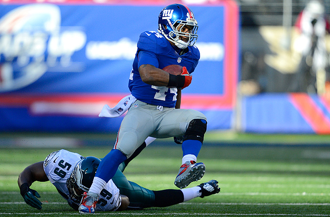 With Indianapolis, Ahmad Bradshaw will likely be listed on the depth chart behind Vick Ballard.