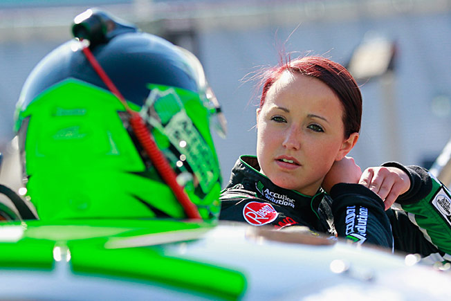 Kenzie Ruston, 21, is a prodigy who got her start driving Bandelero cars at Texas Speedway.