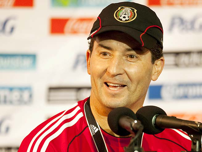 Jose Manuel de la Torre and Mexico are in third place in the Hexagonal.