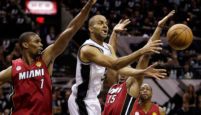 If Tony Parker plays in Game 4, the Heat will have to find a way to contain the Spurs' star guard.