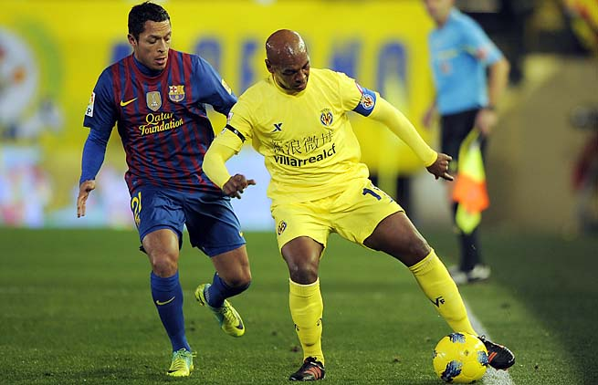 Marcos Senna played more than 200 matches over 11 years with Villarreal.