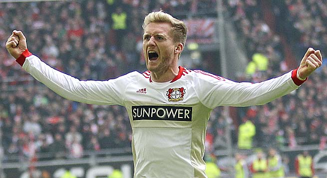 Andre Schuerrle comes to Chelsea after playing for two Bundesliga teams since 2009.