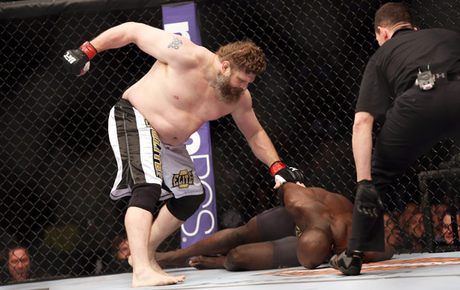 Roy Nelson has knocked out his last three opponents including, most recently, Cheick Kongo.