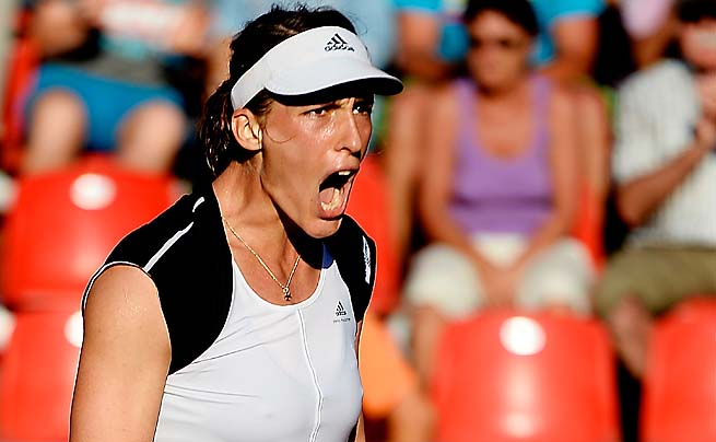Andrea Petkovic is prepping for Wimbledon, where she reached the third round in 2011.