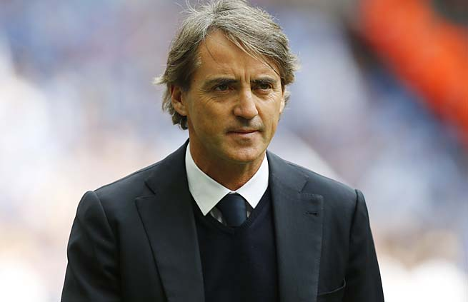 Roberto Mancini was let go by Manchester City after a second-place Premier League finish.