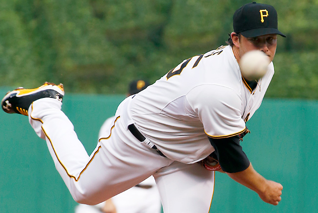 Pittsburgh's Gerrit Cole is a great stream option Sunday and should be owned in all mixed leagues.