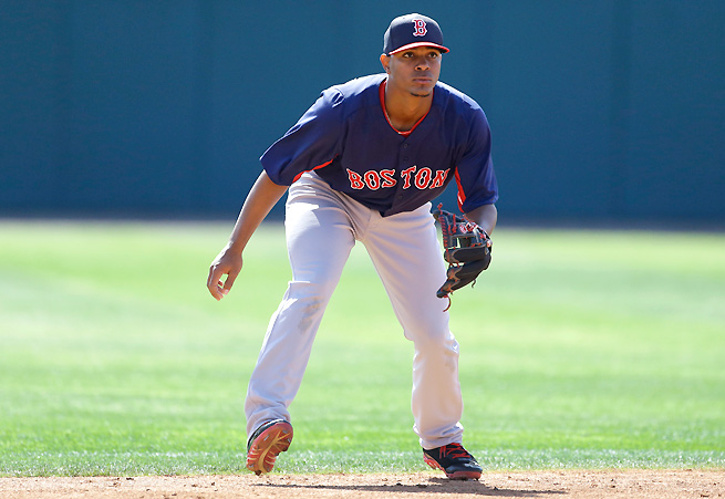 Xander Bogaerts hit .311 with six home runs at Double A Portland, and should only improve in Triple A.