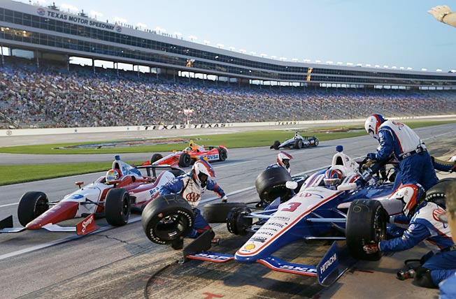 Helio Castroneves won his first race of the season last Saturday, but at a price in the points standings.
