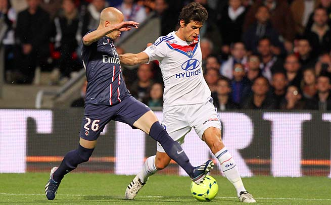 French international Yoann Gourcuff helped Lyon to third in Ligue 1 last season.